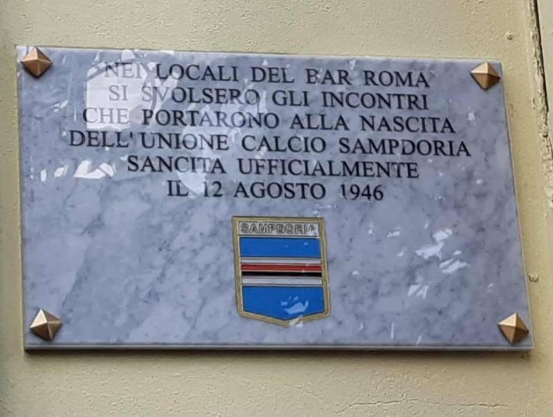 Targa Bar Roma Ultras Tito Cucchiaroni